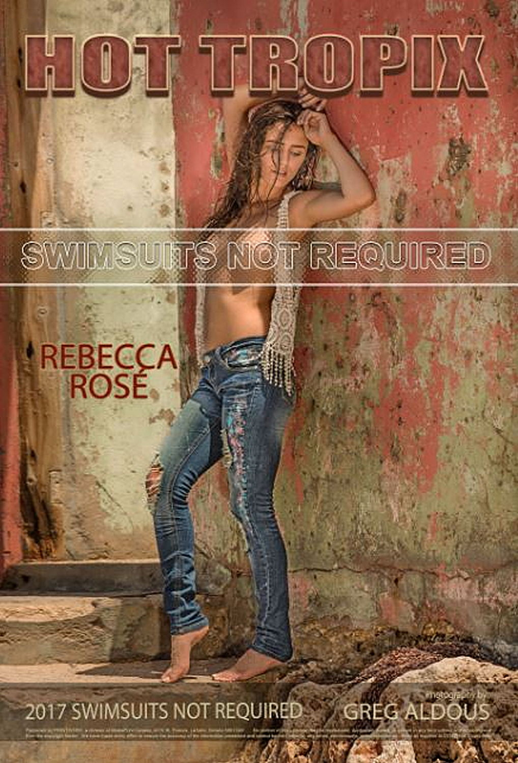 Swimsuits Not Required Wall Calendar 2017