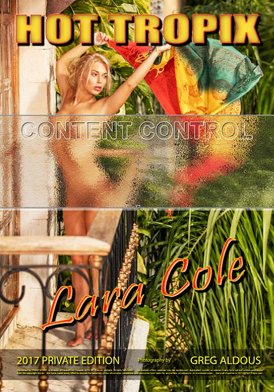 Hot Tropix Lara Cole Private Edition Wall Calendar 2017