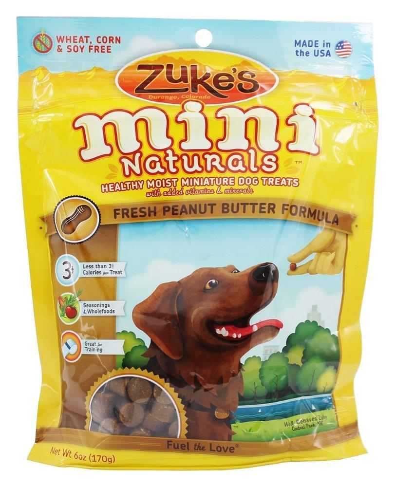 Mini Naturals Moist Miniature Treat for Dogs Peanut Butter 6 oz. 33052