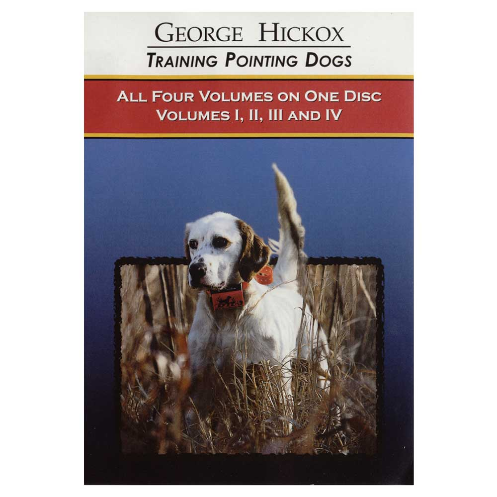 Pointing Dog DVD Collection Vols. 1-4 D050