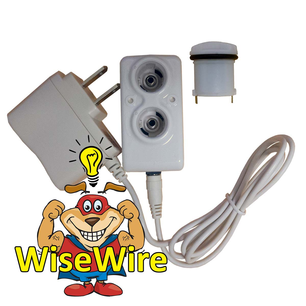 PSUSA WiseWire® Phoenix Rechargeable IF Battery Combo Kit White