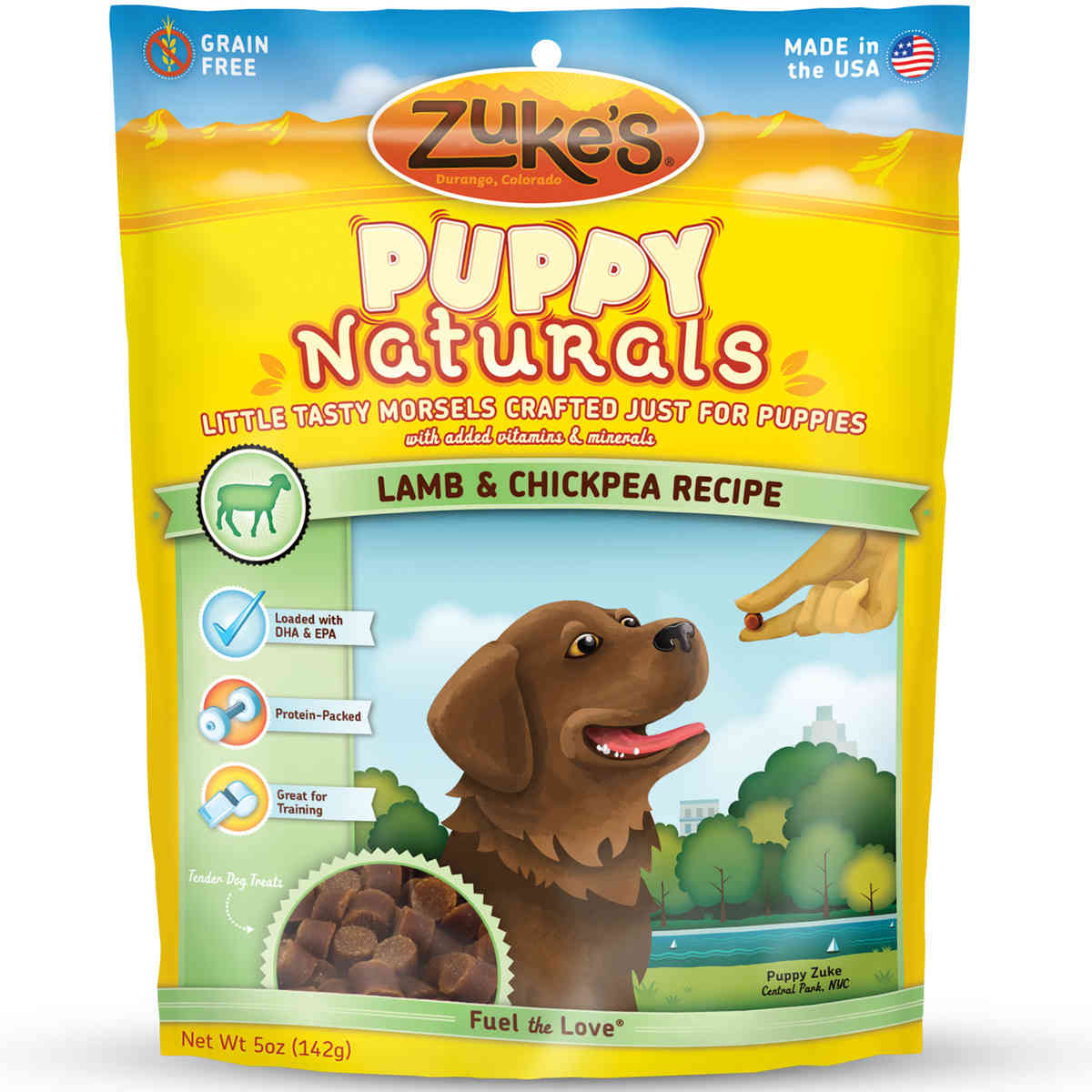 Zuke's Puppy Naturals Lamb and Chickpea 5 oz.