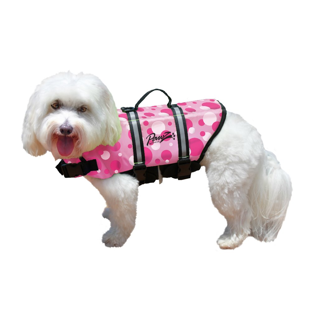 Pawz Pet Products Doggy Life Jacket, Pink, X-Small