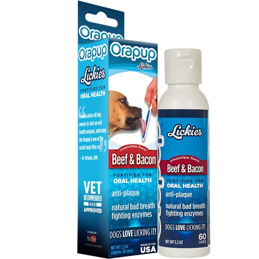 Trudog Orapup Lickies Beef and Bacon Refill 5.3 ounces