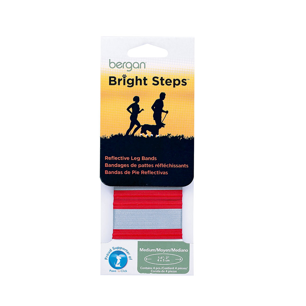 Bright Steps Reflective Leg Bands 88413